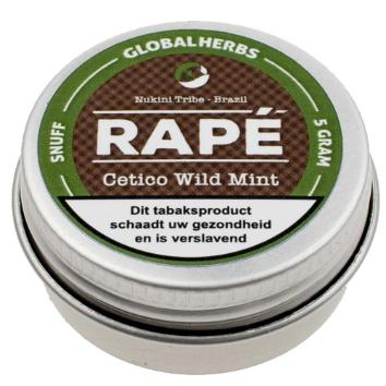 Rapé Cetico Wild Mint