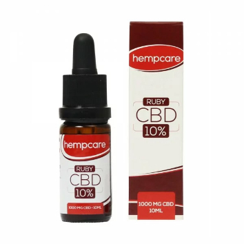 HempCare CBD Oil Ruby 10% - 10 ml