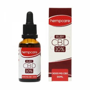 HempCare CBD Oil Ruby 10% - 30 ml
