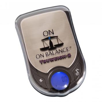 On Balance TW2-100-BK Truweigh Scale