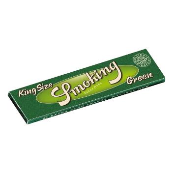Smoking Green King Size Papers